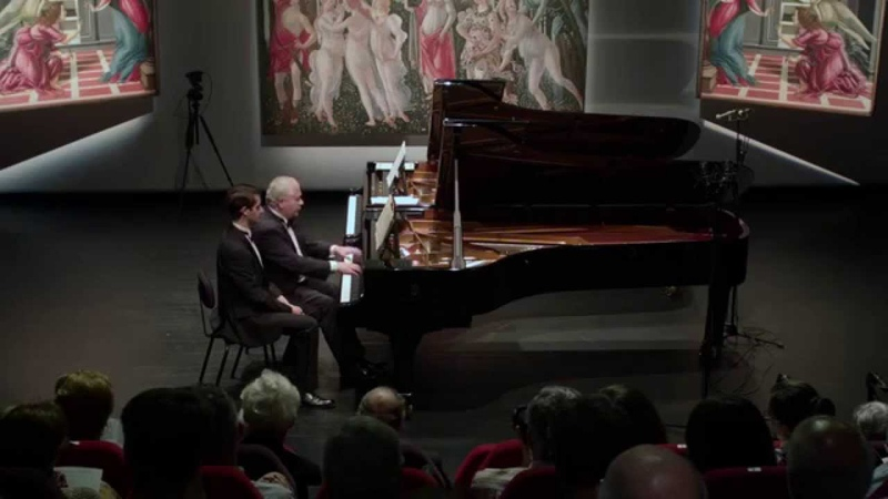 Alexander and Nikita Mndoyants play Schubert
