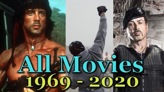 Sylvester Stallone - All Movies (1969 - 2020)