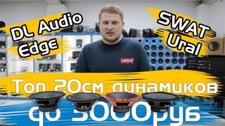 Топ 20см динамиков до 3000₽ / DL Audio Barracuda 200, Ural TT 200, SWAT Mas-80Pro /Обзор и прослушка