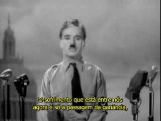 Discurso de Charlie Chaplin em O grande ditador legendado em português