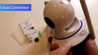 Беспроводная, Wifi, ip камера, KERUI, 720 P, Мини, для помещений ,  умная жизнь, ночное видение