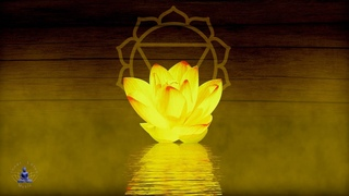 "Solar Plexus Chakra Peaceful Healing Meditation Music   Crystal Singing Bowl   ""Flute & Water"""