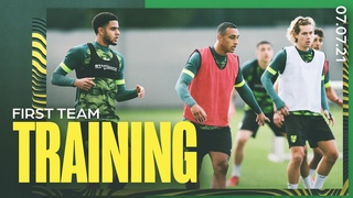 THE LADS ARE BACK!   First pre-season training session of 2021-22