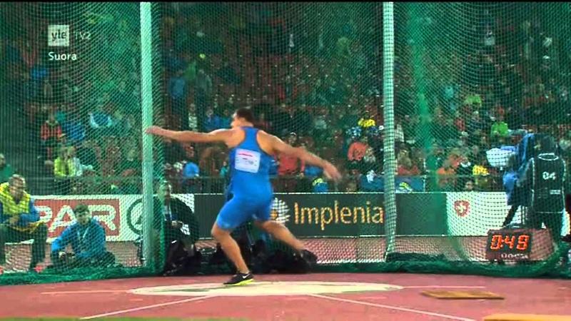 Men´s Discus Throw Final European Championships Zürich, Switzerland 13.8.2014