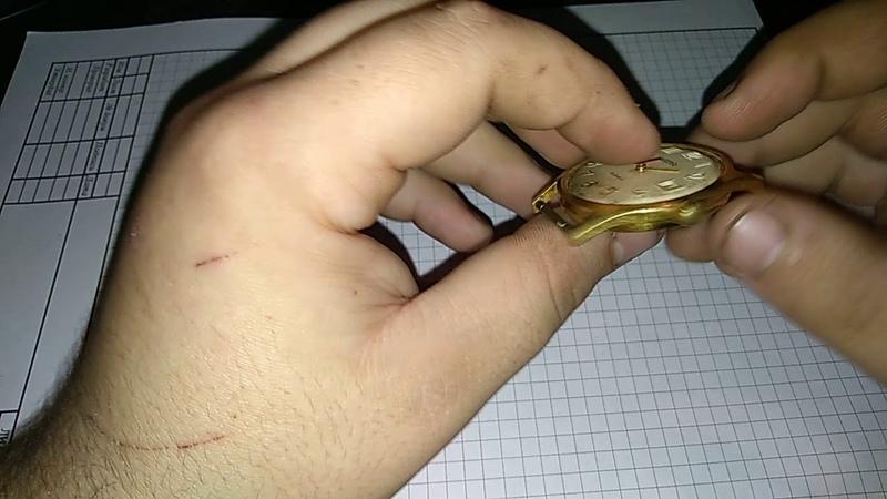 Как отличить золотые часы от позолоченные