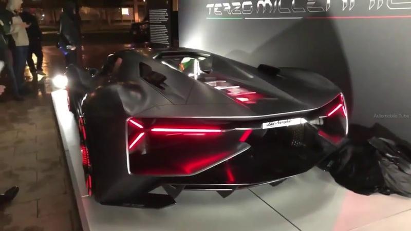 New Lamborghini Terzo Millennio 2018 World Premiere