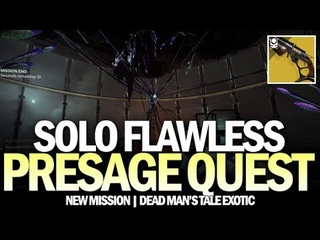 Solo Flawless Presage Exotic Quest (Lone Gun in a Dark Place Triumph) [Destiny 2]