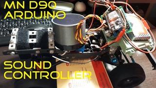 Звук на MN-D90 WPL своими руками на Arduino ESP-32