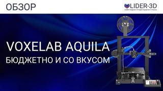 Обзор 3D принтера Voxelab Aquila