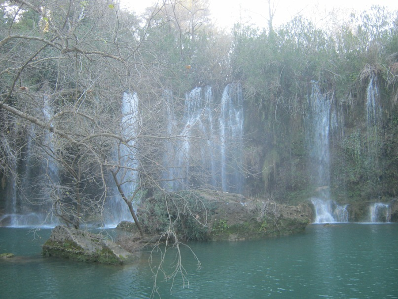 Водопад Куршунлу близко к Анталья