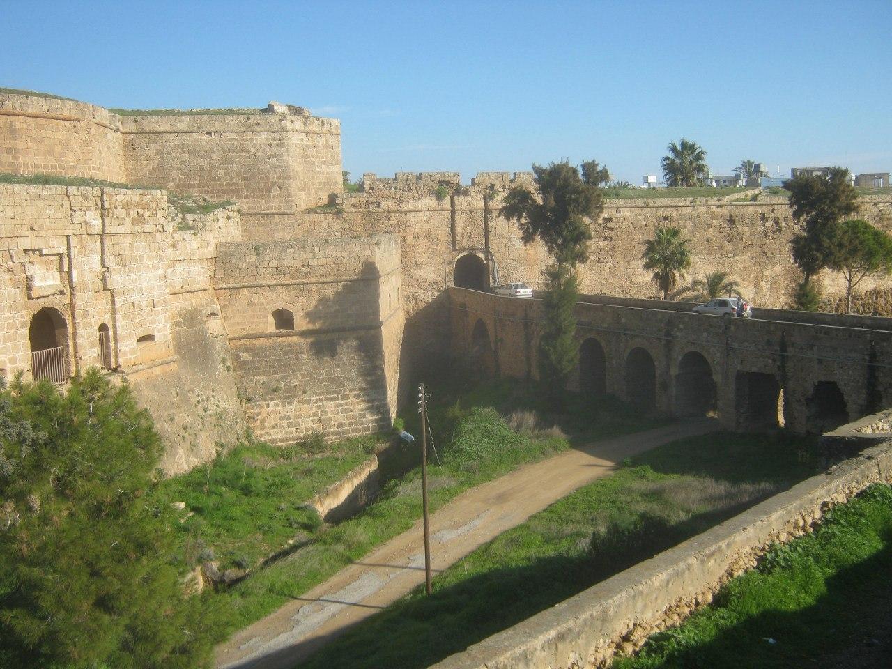 вход в крепость Газимагуса (Фамагуста)