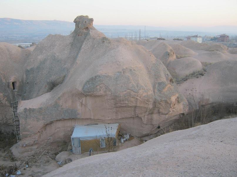 Ночлег в домиках Каппадокии