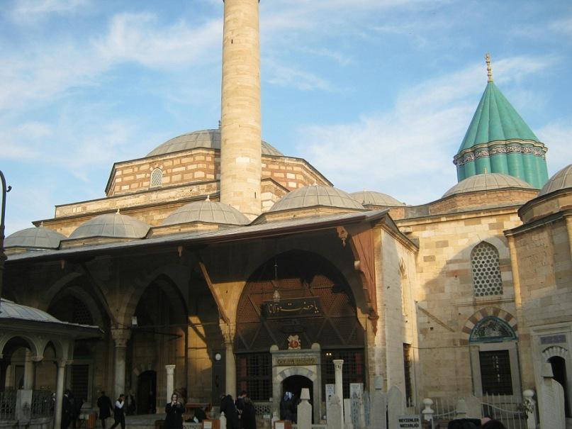 Комплекс мечети и мавзолея Мевланы