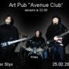 River Styx.30.03.2012. Art Pub Avenue Club