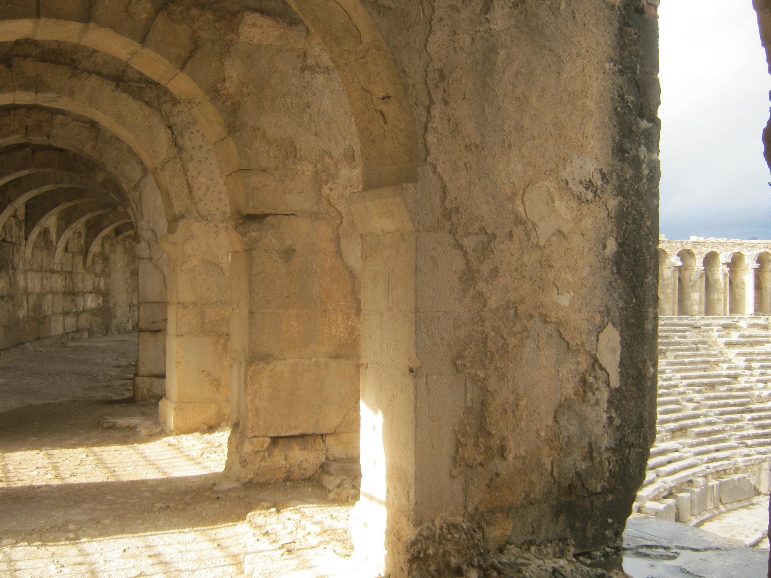 амфитеатр Аспендос в провинции Анталья