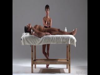 индийский вариант лингам массажа / indian lingam worship massage