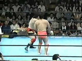 () AJPW Mitsuharu Misawa & Kenta Kobashi & Satoru Asako vs. Toshiaki Kawada & Akira Taue & Tamon Honda