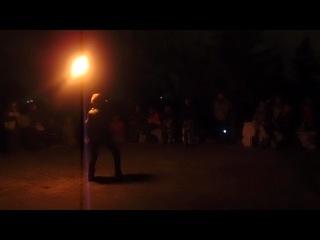 Coyote Improv Ropedart in Sevastopol 12.01.2013