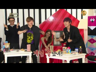 "davichi cut @ is2 b1a4 sandeul называет haeri 'noona', zea dongjun ""атакует"" minkyung"