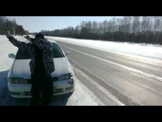 Дебил на дороге