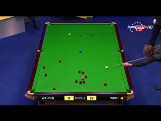Снукер / World Snooker Championship 2013 / Крусибл, Шеффилд / День 12 / Четвертьфинал / Ricky Walden - Michael White