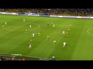 Лига Чемпионов 2012-13 / 1/2 финала / Первый матч / Боруссия Дортмунд (Германия) - Реал Мадрид (Испания) / 2 тайм (Поленов) [HD]