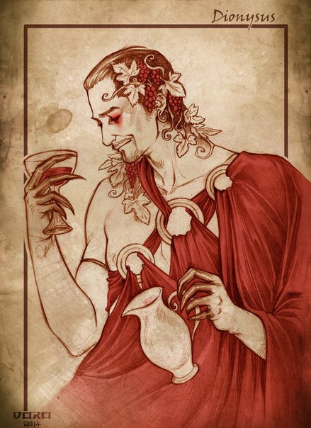 an analysis of greek mythology as a god of wine and vegetation Here is a list of the names of the greek and roman gods (roman mythology: god of agriculture) dionysus bacchus god of wine and vegetation.