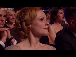 Olivia Colman wins Leading Actress Bafta - The British Academy Television Awards 2014