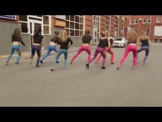 Dance Hall Booty Dance танец choreo by Lesssi twerk