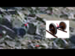 """ancient aliens on mars train axle caught by curiosity, sept 30, 2014"""