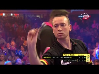 Scott Mitchell vs Geert de Vos (BDO World Darts Championship 2015 / Round 2)