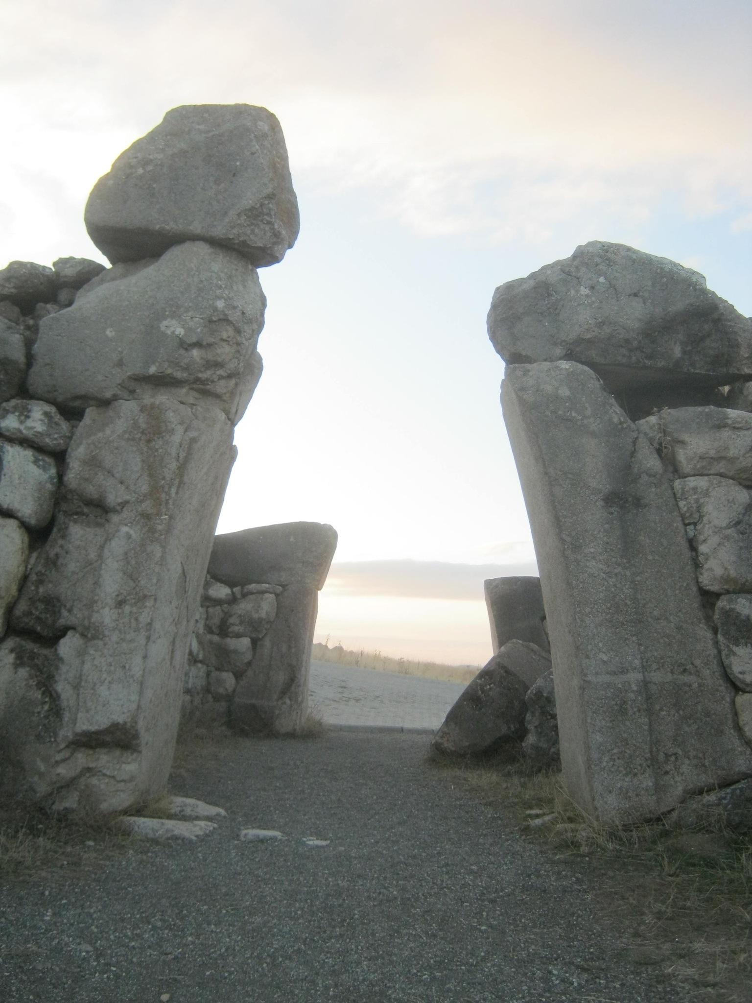 вход в древнем городе Хаттуша
