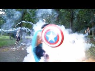 "Artillery Shell Stunt FAIL ""Captain Awesome"""