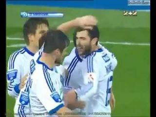 УПЛ Динамо - Таврия 2-0 голы (14тур)