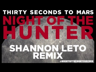 Thirty Seconds To Mars - Night Of The Hunter (Shannon Leto Remix)