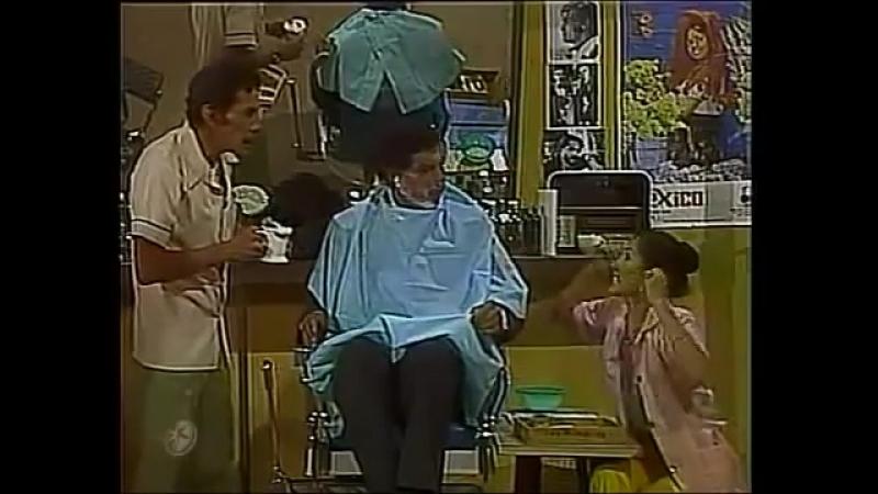 194 El Chapulín Colorado En las peluquerías es fácil hallar pelados