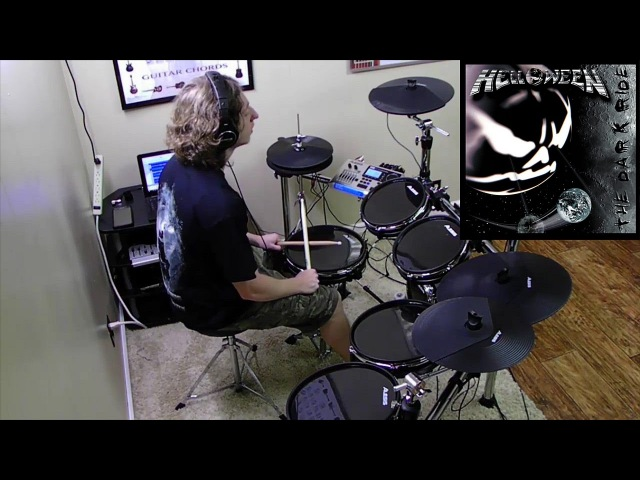 HELLOWEEN Mr Torture Drum Cover by Christian Carrizales