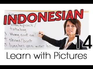 Learn Indonesian Vocabulary with Pictures - Indonesian Job Vocabulary