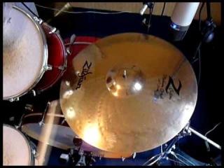 "Zildjian Z Custom Medium Crash 20""  [HQ] Cymbal test"