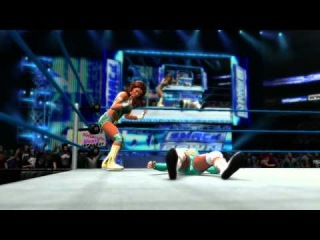 Eve hits her finisher in WWE '13 (Official)