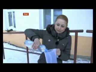 TV Nova si o lidech myslí že jsou úplní idioti. Co se stane z vody když je -15°C?