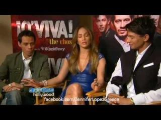 Jennifer Lopez & Marc Anthony Reunite for Q'Viva! - Access Hollywood 14/01/12