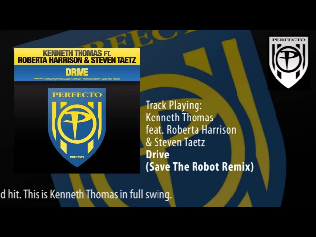 Kenneth Thomas feat Roberta Harrison Steven Taetz Drive Save The Robot Remix