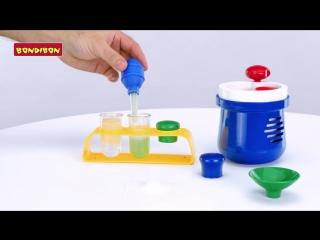 Маленький химик - французские научно-познавательные опыты Науки с Буки BONDIBON _1