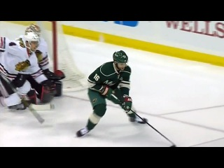 Zucker spins and scores just 18 seconds in