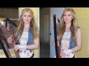 HOTEL CALIFORNIA Eagles COVER Harp Twins Camille and Kennerly HARP ROCK