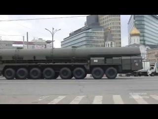 Передвижение колоны Тополь-М