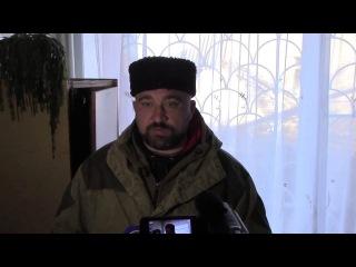 Интервью с мэром Дебальцево Александром Афендиковым.