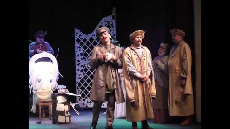 Премьерный показ спектакля Пiнская шляхта состоялся в Полесском драмтеатре