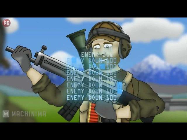 Друзья по Battlefield USAS 12 Фраги Рус